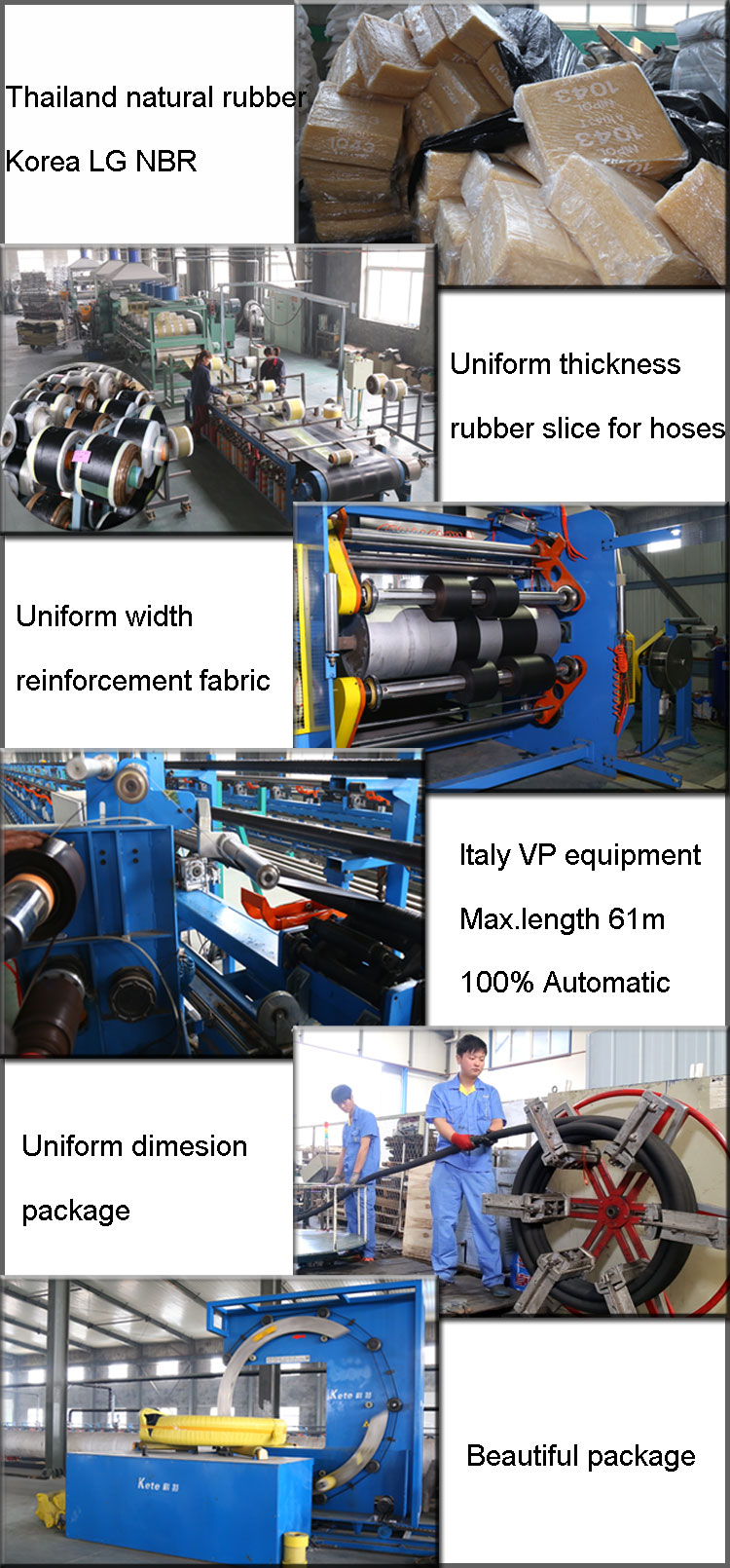 chemical hose production
